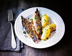cuisiner avec ce que l on a dans le frigo recette filets de maquereau grillés à la moutarde à l ancienne