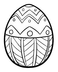 Coloring Pages Eggs Printable Easter Egg Scavenger Hunt Clues Sheets Colored
