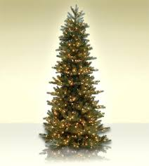 Platinum Slim Pre Lit Christmas Tree 75 Ft Delicate Pine