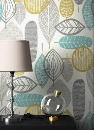 newroom papiertapete blumentapete grau gelb palmen wallpaper floral blumen tapete retro pflanzen wohnzimmer schlafzimmer büro flur kaufen