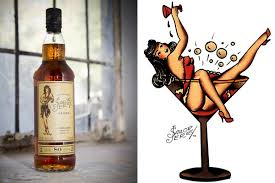 Sailor Jerry Has Unveiled A New Look For Its Premium Spiced Rum The Bottle Design Was Developed To Reinforce Brands Credentials