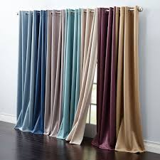 Brylane Home Curtain Panels by Madison Room Darkening Grommet Curtain Curtains U0026 Drapes