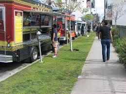 Food Truck Selection May Dwindle - Park Labrea News/ Beverly ... Commission Moves To Legalize Regulate Food Trucks Santa Monica Global Street Food Event With Evan Kleiman In Trucks Threepointsparks Blog Private Ding Arepas Truck In La Fast Stock Photos Images Alamy Best Los Angeles Location Of Burger Lounge The Original Grassfed Presenting The Extra Crispy And Splenda Naturals Truck Tour Despite High Fees Competion From Vendors Dannys Tacos A Photo On Flickriver