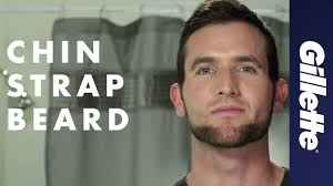 Chin Curtain Beard Styles by Shaping A Beard Chin Strap Beard Style Gillette Styler Youtube
