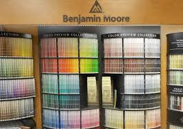 Benjamin Moore Paint Chip Display Marine Home Center 134 Orange