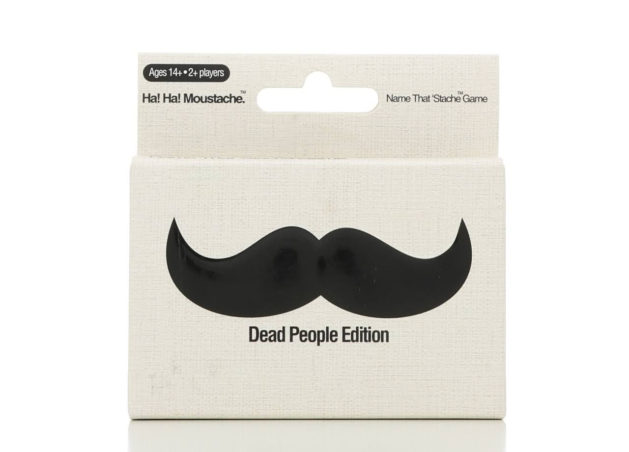 Haywire Group Ha Ha Moustache Name That 'Stache Game - Dead People Edition