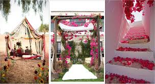 The Rustic Bohemian Wedding Decor Theme