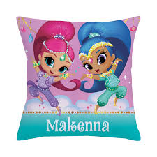 Shimmer and Shine Make it Sparkle Throw Pillow