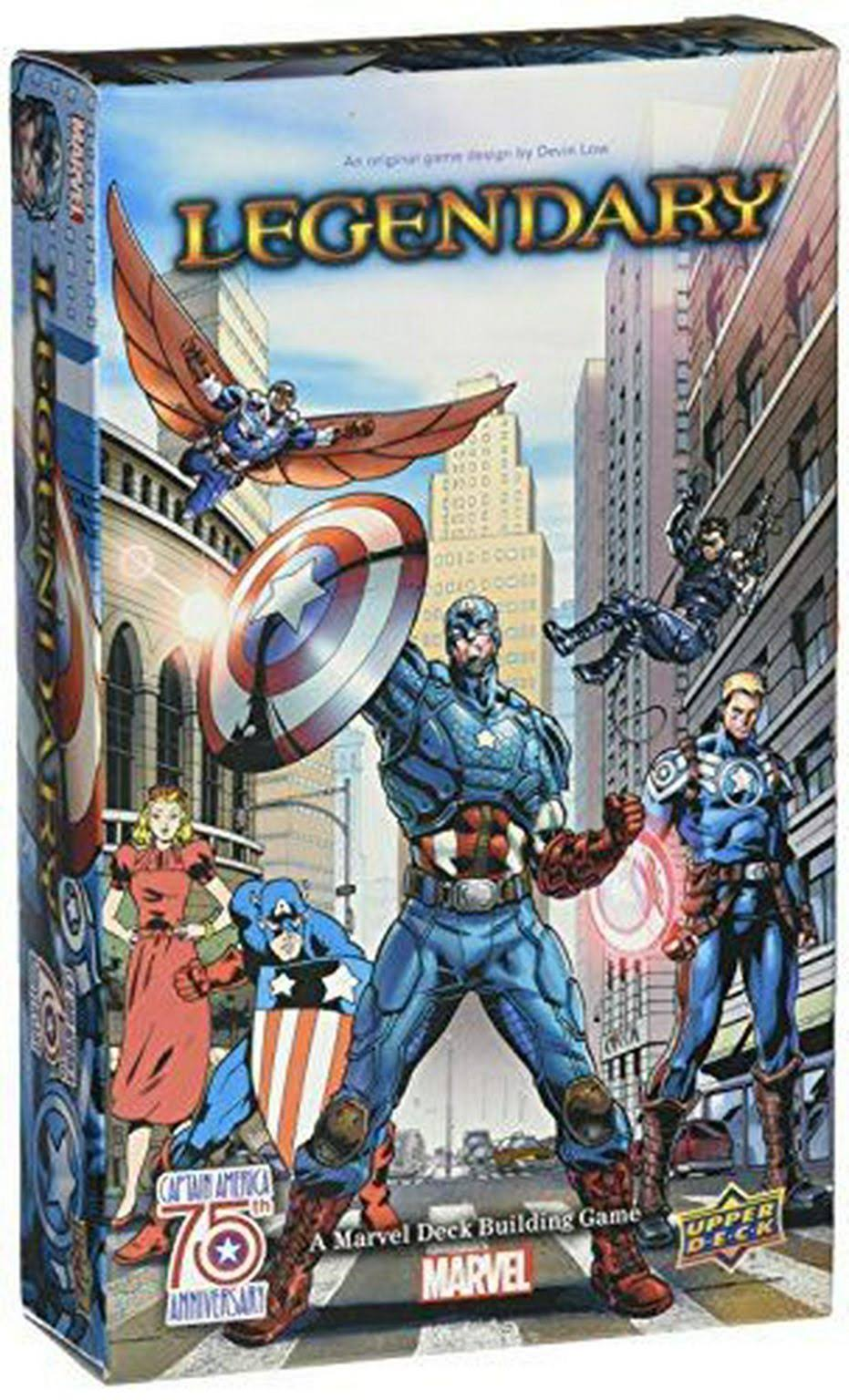 Legendary Marvel Deck Building Game - Captain America Small Box Expansion