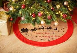 Luxury Jute Christmas Tree Skirt Amazon