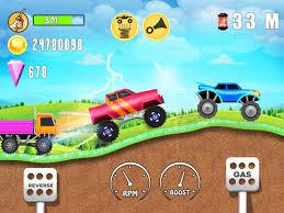100 Kids Monster Trucks Truck Hill Rush For Android APK Download