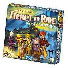 Ticket To Ride First Journey Days Of Wonder Inc