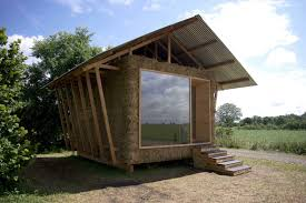 100 Eco Home Studio Home Made From Straw And Wood Should Please The Three