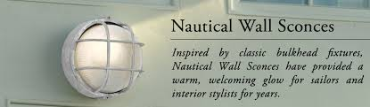 outdoor wall mounted lighting nautical style sconces brass indoor