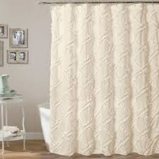 Lush Decor Serena Window Curtain by Buy Ruffled Ivory Curtains From Bed Bath U0026 Beyond