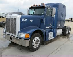 100 Stephenville Truck And Trailer 1998 Peterbilt 377 Semi Truck Item B4574 SOLD February