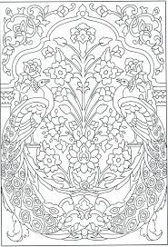 Peacock Coloring Page For Adults 1 31