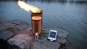 Biolite Wood Burning Camping Stove Charges Your Phone