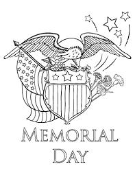 Printable Memorial Day Coloring Page Free PDF Download At Coloringcafe