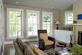 beautiful farmhouse livingroom wood trim decoratively wall
