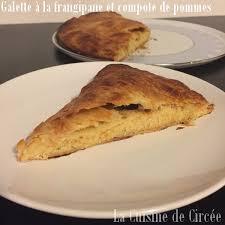 dessert a base de compote de pommes galette des rois à la frangipane et compote de pommes la cuisine