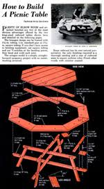 Building Plans For Hexagon Picnic Table by Some Ideas For Wood Working Cool Woodworking Plan App