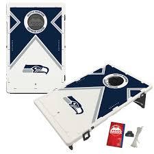 Seattle Seahawks 2 X 3 Vintage Design BAGGO Bean Bag Toss Game