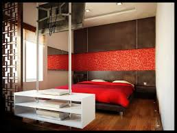 Bedroom Design Red And Gray Ideas Black