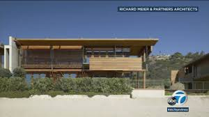 100 Malibu Beach House Sale Home Sells For Record 110 Million Abc13com