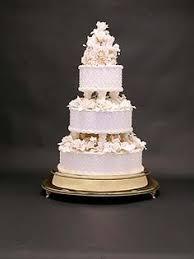 20 inch White Pedestal Wedding Cake Stand