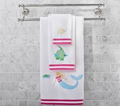 Under The Sea Mermaid Bath Towel Collection | Pottery Barn Kids Accsories Monogrammed Beach Towels Lands End Kids Sofas Marvelous Glass Side Table Pottery Barn Tables Baby Fniture Bedding Gifts Registry Pbk June 2017 Page 3233 Towel Wraps For As Low 2 Fabulous Fun Finds Making It Feel Like Home Hooded Animal Bath Wrap Unicorn Evie Add Your Personal Sumrtime With Mini Submarine Nip 25 X 50 2247