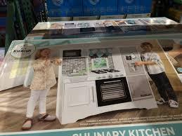 Costco 1051279 KidKraft Culinary Play Kitchen Pic
