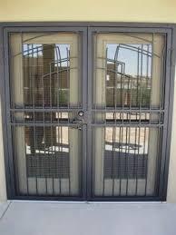 El Paso Custom Iron Works Standard Security Doors
