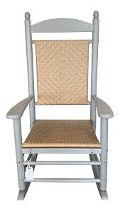 Polywood Presidential Woven Patio Rocking Chair