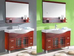 Color For Bathroom Cabinets by Pops Of Color For Three On Sale Bathroom Vanities From Kitchen