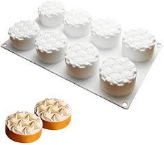 dubens 8 loch spirale blume kuchen formen silikon form für backform backformen schokolade werkzeuge gebäck pan kuchen dekoration zauberwürfel