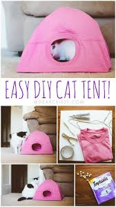 Tent Craft Old T Shirts Diy Crafts For Your Room Cat Kitties Who Play Hard Craftcute