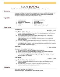If Youre Ready To Improve Your Chances Of Landing A Shift Supervisor Position Click On One The Resume Examples Below Get Started