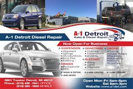 100 A1 Truck And Auto Detroit Diesel Repair 3801 Trenton St Detroit MI 48210