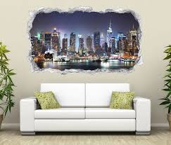 3d wandtattoo skyline new york stadt usa wandbild motiv wohnzimmer wand aufkleber sticker 11o2319 p wandtattoos und leinwandbilder günstig