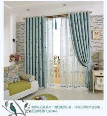 die neue koreanische garten verdunklungsvorhänge frische waldvögel wohnzimmer balkon schlafzimmer gardinen