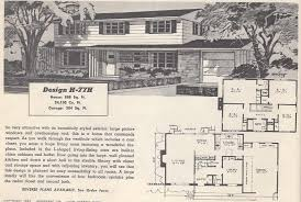 The Retro Home Plans by Vintage House Plans 77h Antique Alte Luxihome