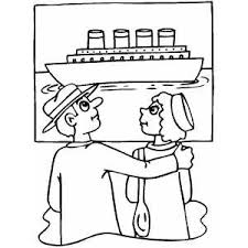 Titanic Coloring On Free Sinking Pages Will Bring Out The Creativity