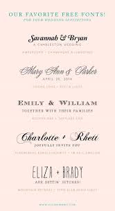 Free Font Combinations For Wedding Invitations CLICK THIS LINK AND THERE ARE A TON OF