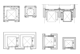 Bathroom Design Cad Blocks by Free Lift Block 2 Free Cad Blocks U0026 Drawings Download Center