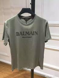2016 summer balmain army t shirt size s xxl black 100 cotton