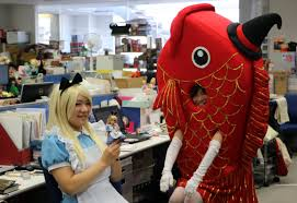 Characters For Halloween by Halloween Comes Early For Tomy Employees The Japan Times