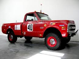 100 Built For Trucks 1969 Chevy K10 For The Mexican 1000 Rally It Was Once Owned