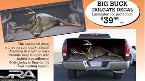 100 Hunting Decals For Trucks Best Deer Decal Ever Bowhuntingcom