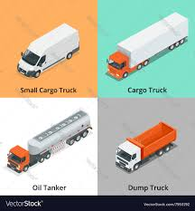 100 Snow Plows For Small Trucks Cargo Truck Set Icons Plow Truck Vector Image